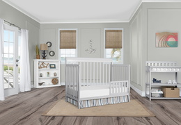 Grey Alissa Toddler Bed RS