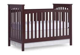 Charcoal Cape Town 5 in 1 Convertible Crib Silo