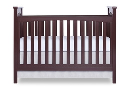 Charcoal Cape Town 5 in 1 Convertible Crib Front Silo