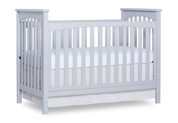 Pebble Grey Cape Town 5 in 1 Convertible Crib Silo