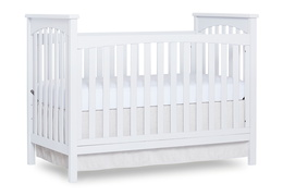 White Cape Town 5 in 1 Convertible Crib Silo