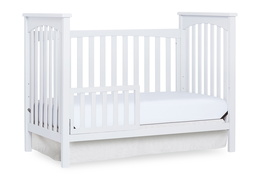 White Cape Town Toddler Bed Silo