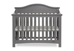 Steel Grey Venice Folding Portable Crib 03