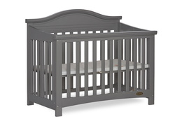 Steel Grey Venice Folding Portable Crib 05