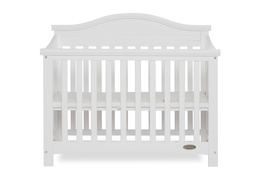 White Venice Folding Portable Crib 03