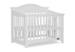 White Venice Folding Portable Crib 05