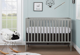 Cool Grey Synergy 5 in 1 Convertible Crib RS