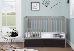 Cool Grey Synergy Toddler Bed RS