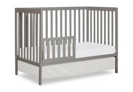 Cool Grey Synergy Toddler Bed Silo