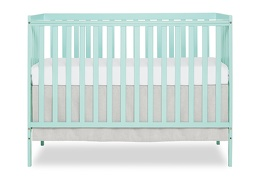 Mint Synergy 5 in 1 Convertible Crib Silo Front
