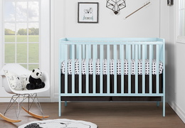 Sky Blue Synergy 5 in 1 Convertible Crib RS