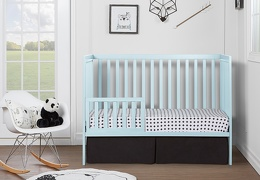 Sky Blue Synergy Toddler Bed RS