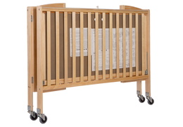 Natural Folding Full Size Convenience Crib Silo2