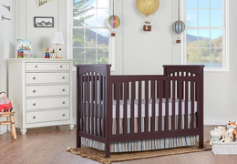 Cape Town 5 in 1 Convertible Crib