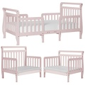 Blush Pink Emma Toddler Bed Collage