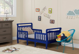 Dark Blue Emma Toddler Bed Room Shot