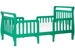 Emerald Emma Toddler Bed Silo Side
