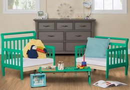 Emerald Emma Toddler Bed Room Shot