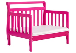 Fuchsia Pink Emma Toddler Bed Silo