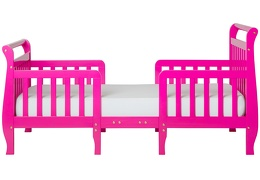 Fuchsia Pink Emma Toddler Bed Silo Front