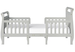 Steel Grey Emma Toddler Bed Silo Front