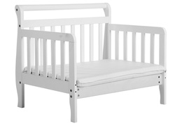 White Emma Toddler Bed Silo
