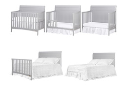 Bailey 5 in 1 Convertible Crib Collage