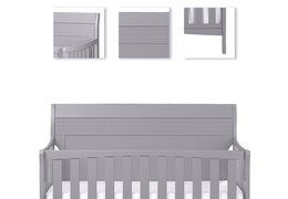 Bailey 5 in 1 Convertible Crib Details