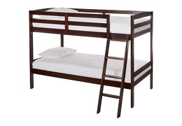 Logan Mini Twin Over Twin Bunk Bed Silo 709-E