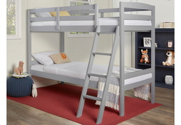 Logan Mini Twin Over Twin Bunk Bed RS 709-G