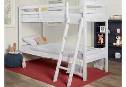 Logan Mini Twin Over Twin Bunk Bed RS 709-W