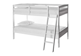 Logan Mini Twin Over Twin Bunk Bed Silo 709-W