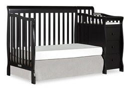 Black Brody Day Bed with Changer Silo