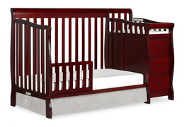 Cherry Brody 5 in 1 Toddler Bed with Changer Silo