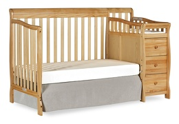 Natural Brody 5 in 1 Day Bed Silo with Changer