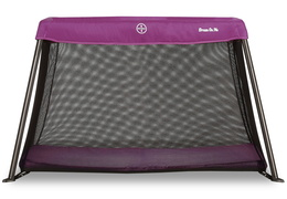 Plum Travel Light Play Yard Front