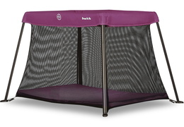Plum Travel Light Play Yard Side