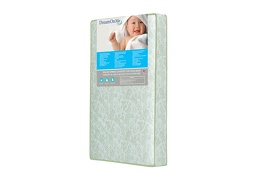 37F Side green Jetsetter Playard Firm Foam Mattress