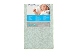 37F Front green Jetsetter Playard Firm Foam Mattress