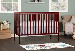 Cherry Synergy 5-in-1 Convertible Crib RS1