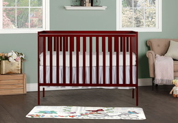 Cherry Synergy 5-in-1 Convertible Crib RS