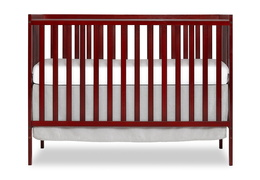 Cherry Synergy 5-in-1 Convertible Crib Silo Front