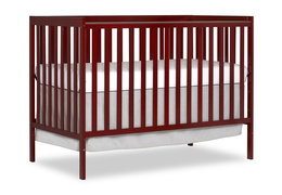 Cherry Synergy 5-in-1 Convertible Crib Silo Side