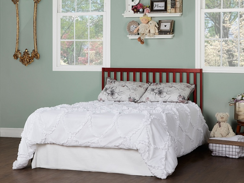 Cherry Synergy Full Size Bed RS