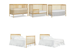 Natural Synergy 5-in-1 Convertible Crib Collage