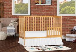 Natural Synergy 5-in-1 Toddler Bed RS