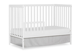 White Synergy Toddler Bed Silo