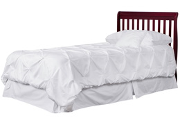 628-C Aden Twin-Size Bed without Footboard Silo