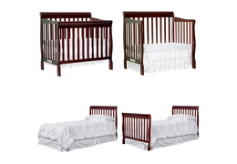 628-E Aden 4 in 1 Convertible Mini Crib Collage