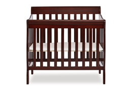 628-E Aden 4 in 1 Convertible Mini Crib Silo Front